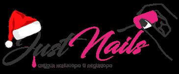 Логотип салон маникюра и педикюра JustNails